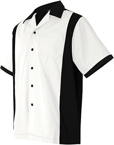 Hilton Men's Retro Cruiser Bowling Shirt