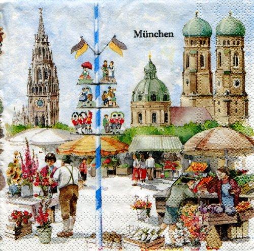 IHR - Servietten - München - Deutschland/Stadt