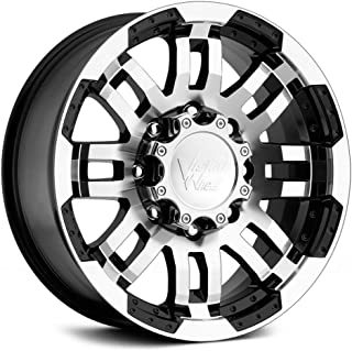 "Vision Warrior 375 Gloss Black Machined Face Wheel (16x8""/6x139.7mm)"