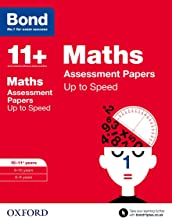 Bond 11+: Maths: Up to Speed Papers: 10-11+ years