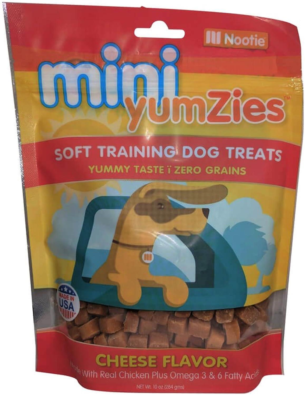 Nootie TYM10C Mini Yumzies Soft Training Dog Treats, 10 oz All