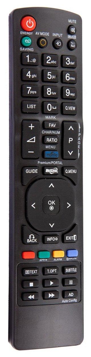 Mando a Distancia de reemplazo para LG AKB72915207 AKB72914004 AKB72915244 AKB72915246: Amazon.es: Electrónica