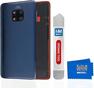 MMOBIEL Back Cover Battery Door Compatible with Huawei Mate 20 Pro 2018 6.39 inch (Midnight Blue)