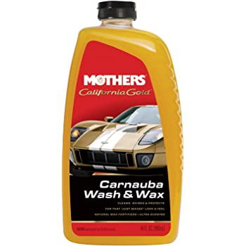 Mothers 05674 California Gold Carnauba Wash & Wax, 64 oz.