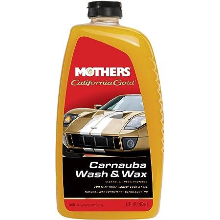 Mothers 05674 California Gold Carnauba Wash & Wax, 64 oz.