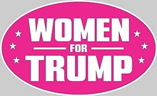 ION Graphics Trump Support Sticker Women For Trump Decal Window Bumper