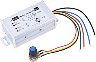 PWM DC Motor Speed Controllers,9-60V 20A 1200W 25KHz Electronic Voltage Regulator Dimmer Controller Speed Regulator Switch
