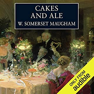 Cakes and Ale audiobook cover art