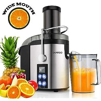 GearGo Licuadora para Verduras y Frutas, 800W Extractor de jugos ...