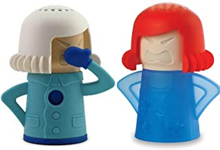 Keledz Microwave Cleaner Angry Mom with Fridge Odor Absorber Cool Mom(2pcs)