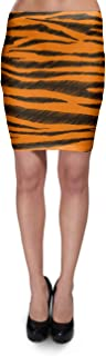 Rainbow Rules Tigger Stripes Winnie The Pooh Inspired Bodycon Skirt