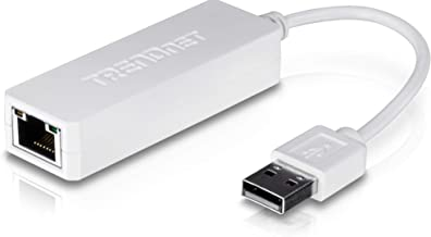 TRENDnet USB 2.0 to 10/100 Fast Ethernet LAN Wired Network Adapter for Macbook, Chromebook, Windows 8.1 and Earlier, Linux, and Specific Android Tablets, ASIX AX88772A Chipset, TU2-ET100