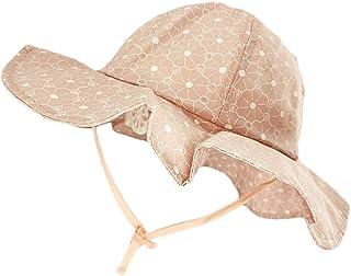DANMY Baby Girl Sun Hat with UPF 50+ Outdoor Adjustable...