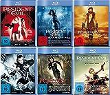 Resident Evil 1-6 komplett Set [6 Blu-rays]