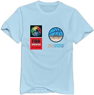 Tavil 2015 Americas Basketball Championship O-Neck T-shirt For Adult