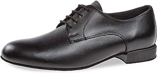 Diamant Hombres Zapatos de Baile 179-025-028 - Cuero Negro - Confort (Ancho) - 2 cm Standard - Made in Germany