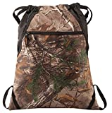 Camouflage Patterned Drawstring Backpacks for Outdoor Sports, Travel, School