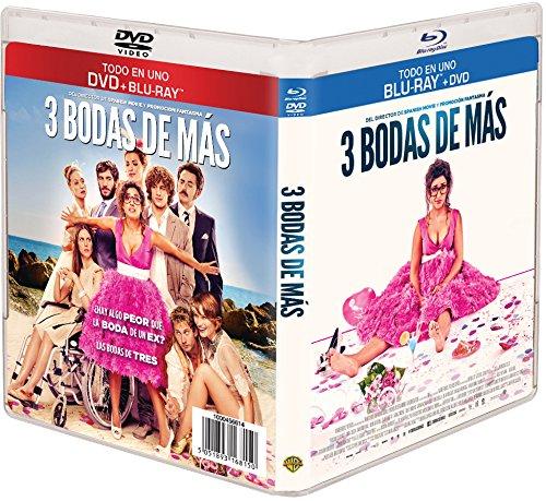 Tres Bodas De Más (BD + DVD) [Blu-ray]