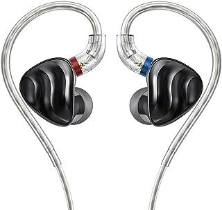 FiiO FH3 Triple Drive (1 Dinámico + 2 Knowles BA) Auriculares intrauditivos HiFi con alta resolución, sonido de graves, alta fidelidad para Smartphones/PC/Tablet