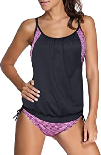 406df04abb011 Amazon.com: Purples - Swimsuits & Cover Ups / Clothing: Clothing ...