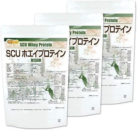 SCU ホエイプロテイン 1kg×3袋 [02] NICHIGA(ニチガ) WPC ハイスペックプロテイン