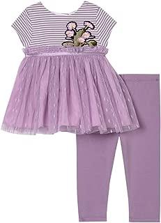 Pastourelle by Pippa & Julie Baby Girls' Tutu Top & Legging Clothing Set