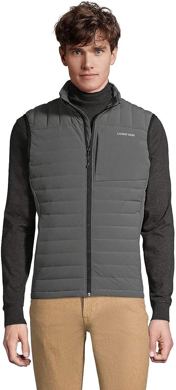 Lands' End Men's Packable 800 Down Vest