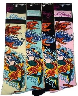 Koi Womens Knee High Socks - White