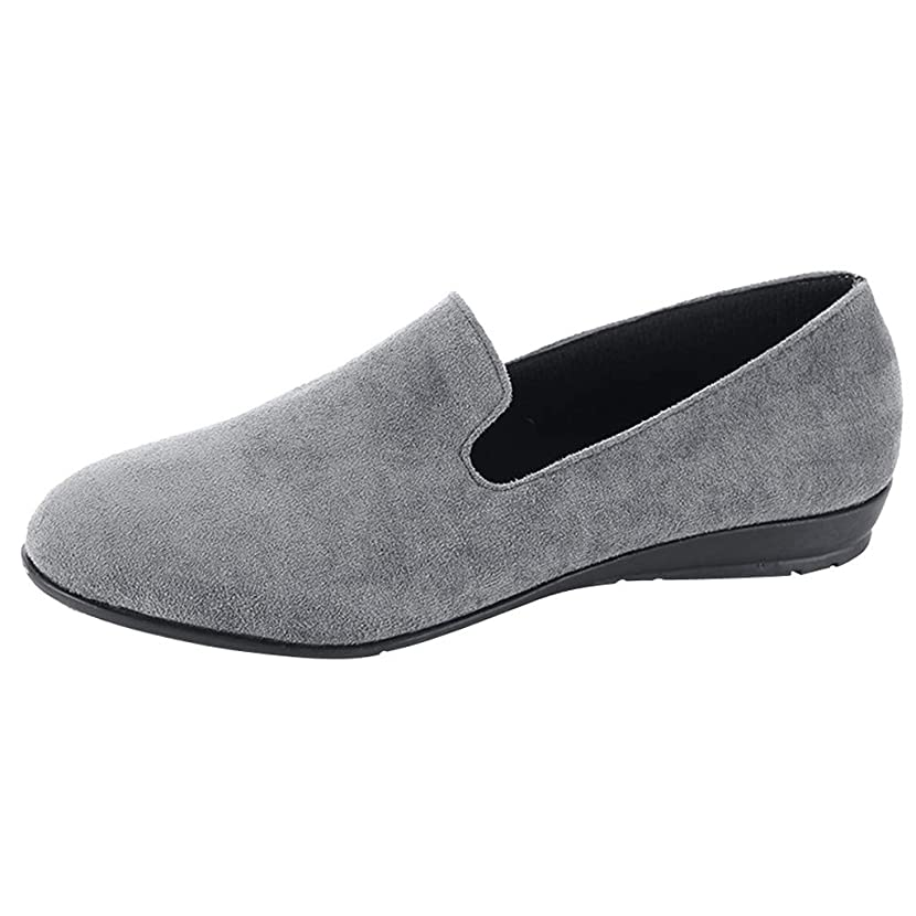 Respctful ? Shoes for Women Girls, Ladies Comfortable Soft Round Toe Flat Slip-on Fashion Loafer Shoes