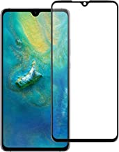 Redluckstar Mate 20 X Screen Protector, Tempered Glass [Full Screen Adhesive] [Full Coverage] [Bubble-Free] [9H Hardness] HD Clear Protective Glass Film for Huawei Mate 20 X 7.2 Inch (1 Pack)