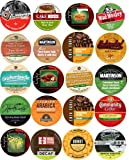 20 Cup Super DECAF Coffee Sampler! Flavored & Regular DECAF Only Coffee Single Serve Cups! All decaffeinated!