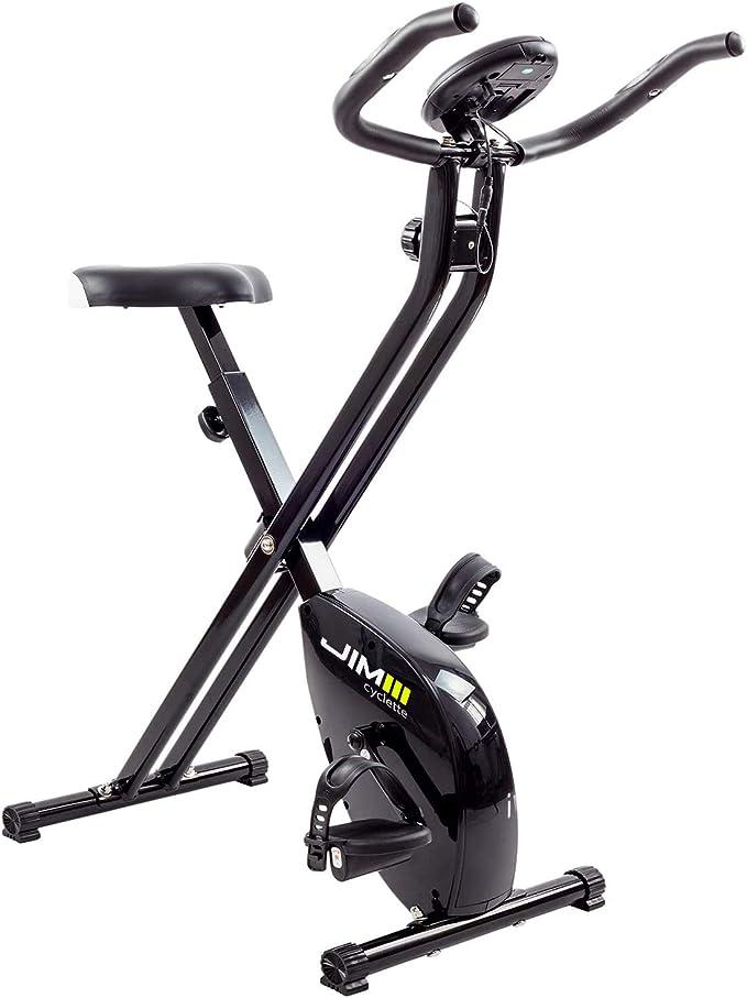 16 opinioni per JIM Fitness Cyclette Sport Tech, nero
