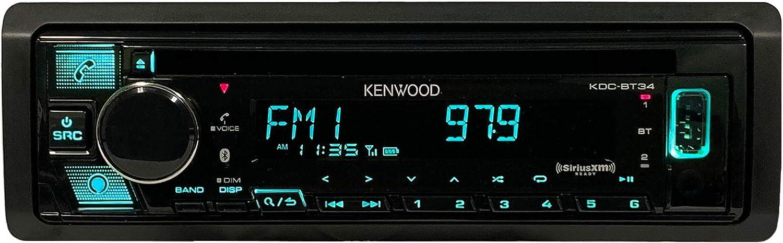 Kenwood KDC-BT34 Max 86% OFF CD Cheap bargain Receiver BT Audio