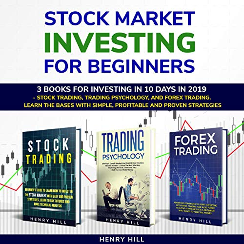 Stock Market Investing for Beginners: 3 Books for Investing in 10 Days in 2019  By  cover art