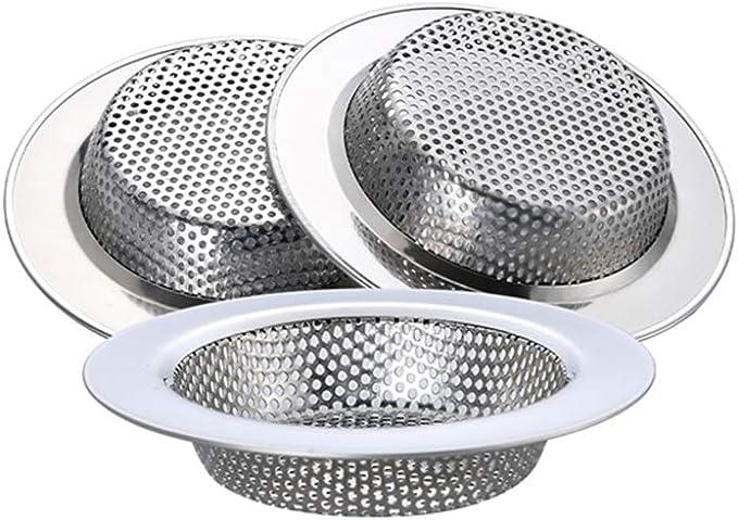 33 opinioni per WINDALY Filtro per Lavello da Cucina, Cucina Sink Strainer in Acciaio Inox, 304