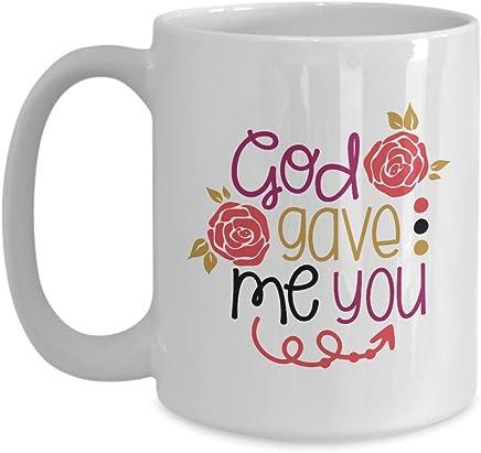 Coffee Mug - God Gave Me You Christmas Gift by Tech Fashion