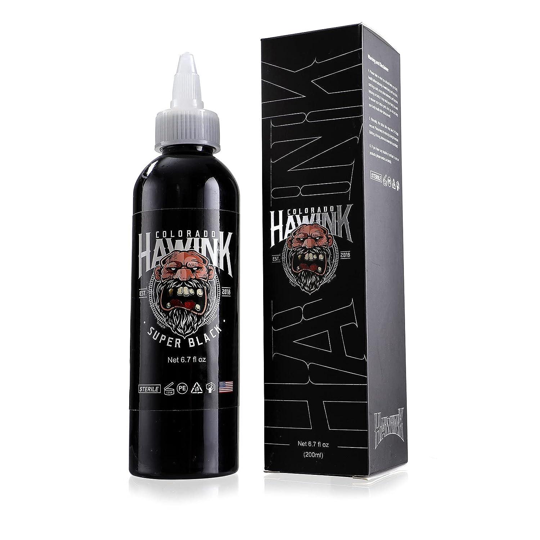 Hawink Tattoo Ink Limited price 6.7oz 200ml USA Standard Vegan-Friendly Memphis Mall Pigm