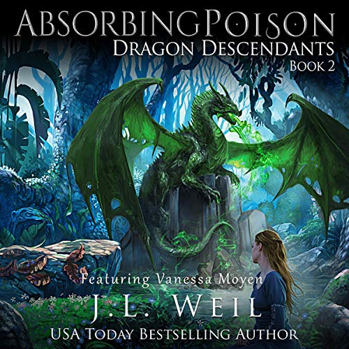 Dragon Descendants 2: Absorbing Poison audiobook cover art
