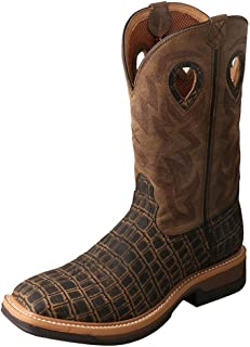 Mens Lite Cowboy Cayman Work Boot
