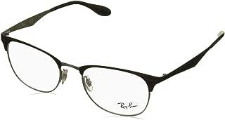 Ray-Ban RX6346 Square Metal Eyeglass Frames