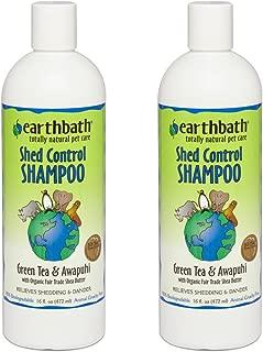earthbath shed control shampoo