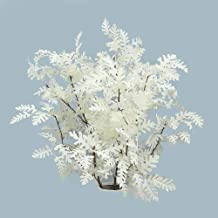 YATAI Pack of 3 Artificial Oak Tree Flowers Spray Artificial Plants Leaf Branches Silk Flowers Wholesale Fake Flowers for ...