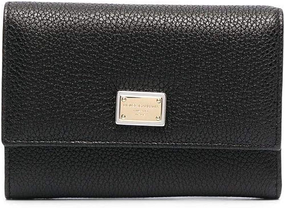 Dolce & gabbana luxury fashion,portafoglio per donna,in vera pelle al 100% BI0924AW73780999
