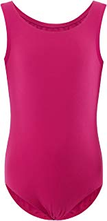 WEGETIT Gymnastics Leotards for Girls Classic Ballet Sleeveless