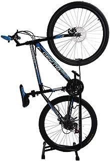 Negro LIOOBO Soporte Vertical para Bicicletas de Carretera Soporte para Bicicletas Soporte de reparaci/ón de Bicicletas en el Piso