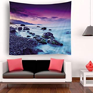 Eookall Tapestry,Tapestry Wall Hanging Scenery Tapestries Seaside Scenery Tapestry Wall Decoration for Bedroom Living Room...
