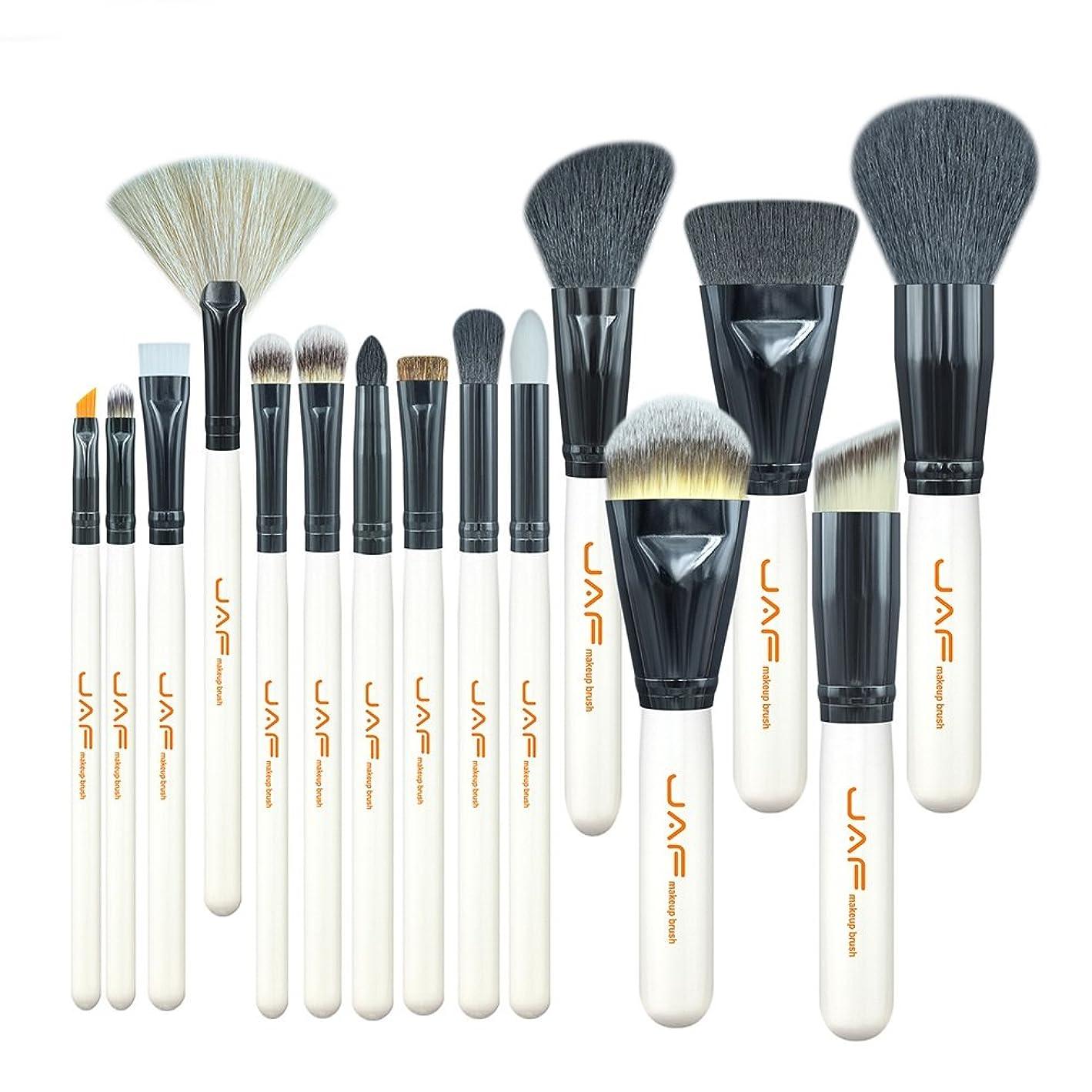 ニンニク聖職者試用化粧ブラシセット 15個セット プロフェッショナル メイクアップ メイクブラシ 美容ブラシ ファンデーション コンター パウダー 化粧筆
