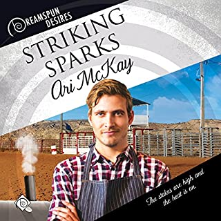 Striking Sparks audiobook cover art