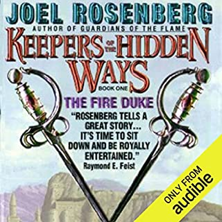 The Fire Duke audiobook cover art