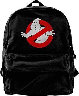 Mochila de lona Geek Ghostbusters Mochila para gimnasio, senderismo, portátil, bolsa de hombro, mochila para hombres y muj...